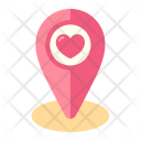 Wedding Location Place Icon