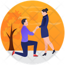 Wedding Proposal Marriage Proposal Romantic Proposal Icon