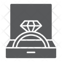 Wedding Ring Box Icon