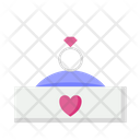 Ring Diamond Jewelry Icon