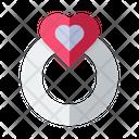 Love Ring Love Valentine Icon