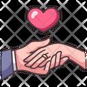 Wedding Ring Proposal Icon