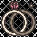 Wedding Ring Pair Icon