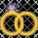 Wedding Rings Rings Wedding Bells Icon