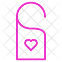 Wedding Tag Tag Love Icon