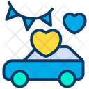 Car Wedding Car Vehicle Icon