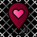 Wedding Venue Location Icon