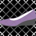 Wedge Shoe Purple Icon