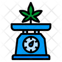 Weed Weigh Dose Icon