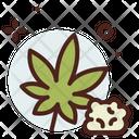 Weed Smoke Addiction Icon