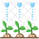 Weed Control Irrigation System Ai Icon