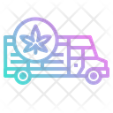 Weed Delivery Icon
