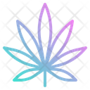 Weed Leaf Icon