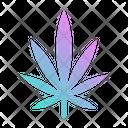 Marijuana Leaf Drug Icon