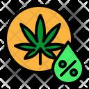 Cannabis Marijuana Cbd Icon