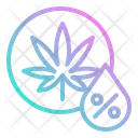 Weed Percentage Icon