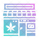 Shop Cannabis Marijuana Icon