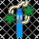 Vape Pen Hemp Icon