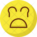 Weeping Angry Emoticons Icon