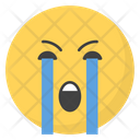 Weeping Face Icon