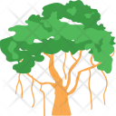 Tree Shrub Weeping Icon