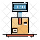 Weigh Package Package Weight Courier Icon