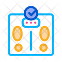 Weighing Device Lifestyle Icon