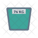 Weighing Machine Kg Weight Icon