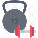 Weight Dumbbell Sport Icon