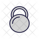 Weight Dumbbell Workout Equipment Icon
