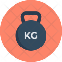Weight Tool Kg Icon