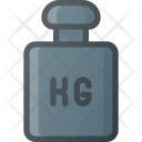 Weight Lift Kilogram Icon
