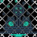 Weight Sinker Encumbrance Icon