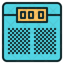Weight Scale Digital Icon