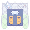 Weight Measure Equipment Icon