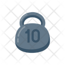 Kg Weight Dumbbell Icon