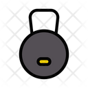 Weight Gym Exercise Icon