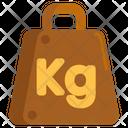 Weight Kilogram Kg Icon