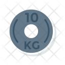 Weight Kilogram Dumbbell Icon