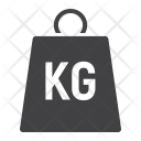 Weight Kilogram Strength Icon