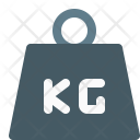 Kilogram Weight Object Icon