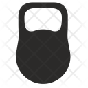 Weight Kettle Ball Icon
