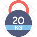 Weight Kg Kilogram Icon