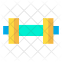 Dumbbell Weightlifting Game Icon
