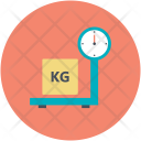 Weight Digital Scale Icon