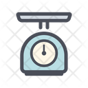 Weight Scales Kitchenware Icon