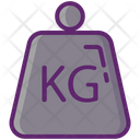 Weight Kilogram Kg Icon
