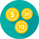 Weight Coin Five Icon