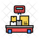 Weight Control Boxes Stock Control Control Icon