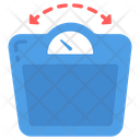 Weight Fluctuation Weight Machine Stress Effect Icon